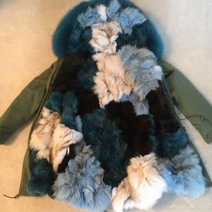 Jackets & Blazers - Fox Fur Parka / Opening Ceremony CT 💥💥TRADE💥💥